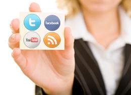 Social Media Businesswoman